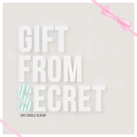 [중고] 시크릿 (Secret) / Gift From Secret (3rd Single Album/홍보용/Box)