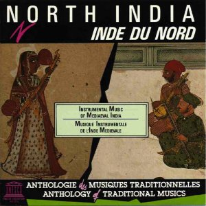 [중고] V.A. / North India - Instrumental Music Of Mediaeval India (수입)