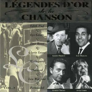 [중고] V.A. / Legendes D'Or De La Chanson Vol.3 (수입)