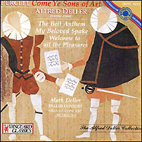 Alfred Deler / Purcell: Come Ye Sons Of Art (미개봉/oovc5052)