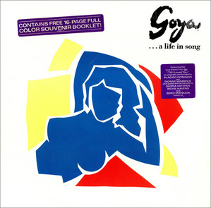 [중고] [LP] Placido Domingo / Goya... A Life In Song (수입/프로모션용/scx40680)