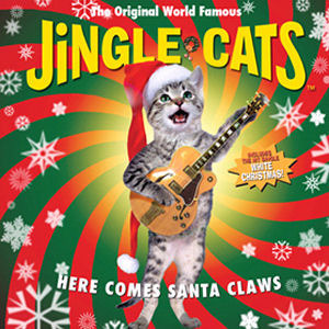 [중고] V.A. / Jingle Cats (징글캣) : Here Comes Santa Claws (홍보용)