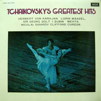 [중고] [LP] V.A. / Tchaikovsky's Greatest Hits (sel0320)