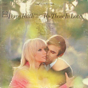 [중고] [LP] Percy Faith / For Those on Love (수입)