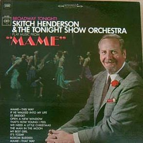 "[중고] [LP] Skitch Henderson & The Tonight Show Orchestra / ""MAME"" (수입/cl2518)"