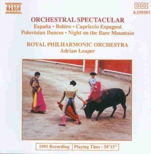 Adrian Leaper / 오케스트라 스펙타큘라 (Orchestral Spectacular/수입/미개봉/8550501)