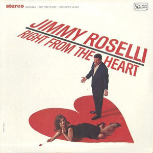 [중고] [LP] Jimmy Roselli / Right From The Heart (수입)