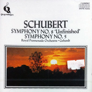 Alfred Gehardt / Schubert : Unfinished Symphony (미개봉/cdq2008)