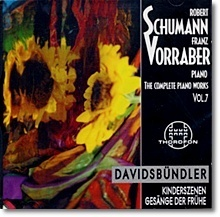 Franz Vorraber / Schumann : The Complete Piano Works Vol.7 (수입/미개봉/cth2519)