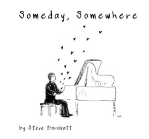 [중고] Steve Barakatt / Someday Somewhere (싸인)