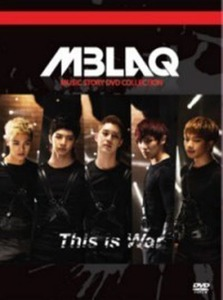 [DVD] 엠블랙 (M-Blaq) / 전쟁이야 Music Story DVD Collection (2DVD+50P PhotoBook/미개봉)
