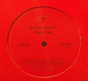 "[중고] [LP] Royce Da 5'9"" / Rock City (수입/Single/홍보용)"