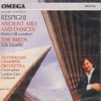 [중고] Christopher Lyndon-Gee / Respighi : The Birds..(oovc5013)