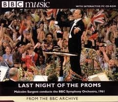 [중고] Malcolm Sargent / BBC Music - Last Night At The Proms (홍보용)