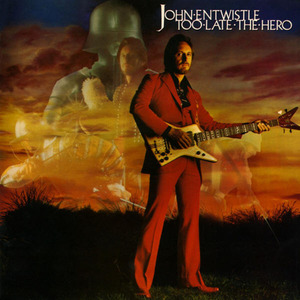 [중고] [LP] John Entwistle / Too Late The Hero (수입/홍보용)