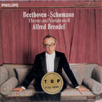 Alfred Brendel / Beethoven, Schumann : Theme and Variations II (미개봉/홍보용/dp0957)