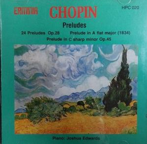 [중고] Joshua Edwards / Chopin (수입/hpc020)