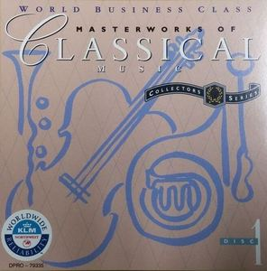 [중고] V.A. / Masterworks Of Classical Music Volume 1, Disc 1 (수입/프로모션용)