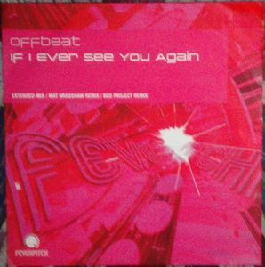 [중고] [LP] Offbeat / If I Ever See You Again (수입/Single)