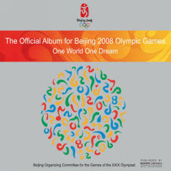 [중고] V.A. / Official Album For Beijing 2008 Olympic - One World One Dream (홍보용)