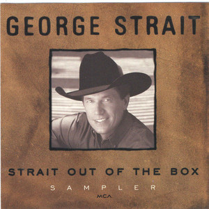 [중고] George Strait / Strait Out Of The Box Sampler (수입/홍보용)