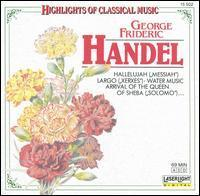[중고] Alain Zaepffel / Handel - Highlights Of Classical Music (수입/15502)