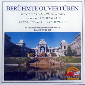 Alfred Scholz, New Philharmonia Orchestra London / Beruhmte Ouverutren (미개봉/srk5017)