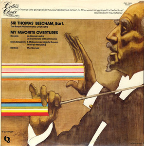 [중고] [LP] Sir Thomas Beecham, Bart / My Favorite Overtures (수입/pmc7004)