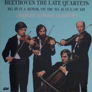 [중고] Lindsay String Quartet / Beethoven : String Quartet No.15, 16 (skcdl0143)