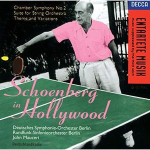 [중고] John Mauceri / Schoenberg In Hollywood (수입/4486192)
