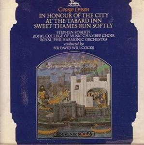 [중고] Sir David Willcocks / George Dyson: In Honour Of The City (수입/ukcd2013)