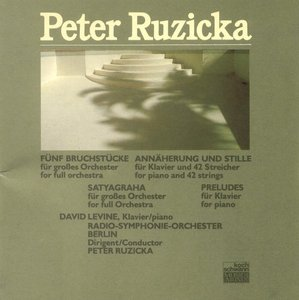 [중고] Peter Ruzicka / Five Fragments for Full Orchestra 1984-87 (수입/311082)