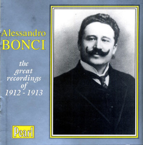 [중고] Alessandro Bonci / The Great Recordings Of 1912-1913 (수입/gemmcd9168)