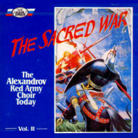 [중고] Alexandrov Red Army Choir Today / Vol.2 The Sacred War (srcd1184/홍보용)