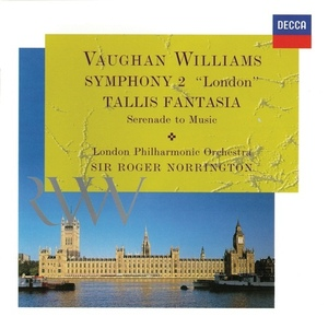 [중고] Roger Norrington / Vaughan Williams: Symphony No. 2; Tallis Fantasia; Serenade To Music (수입/4670472)