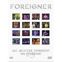 [중고] [DVD] Foreigner : All Access Tonight Live In Concert