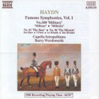 [중고] Barry Wordsworth / Haydn : Symphony No.82,96,100 (수입/8550139)