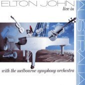 [중고] Elton John / Live In Australia With the Melbourne Symphony (수입)