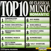 [중고] V.A / TOP 10 Of Classical Music - Romantic (15638)