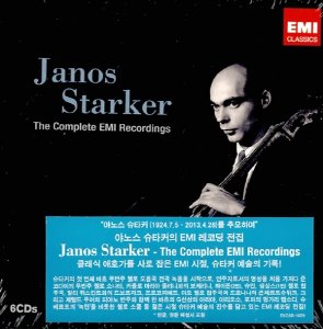[중고] Janos Starker / The Complete EMI Recordings (6CD/Box Set/ekc6d1029)