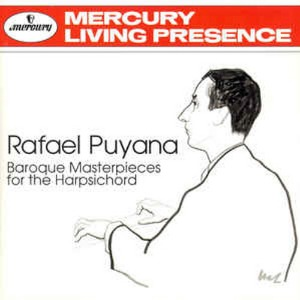 [중고] Rafael Puyana / Baroque Masterpieces For The Harpsichord (수입/4629592)