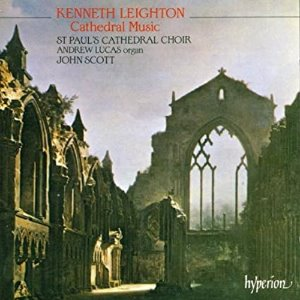 [중고] John Scott / Leighton : Cathedral Music (수입/cda66489)