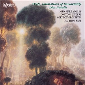 [중고] Matthew Best / Finzi : Dies Natalis, Intimations of Immortality (수입/cda66876)