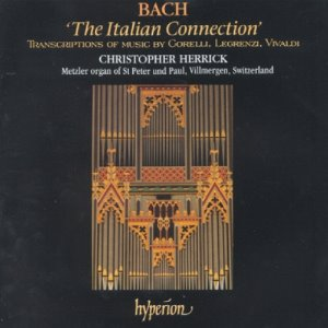 [중고] Christopher Herrick / Bach : The Italian Connection (수입/cda66813)