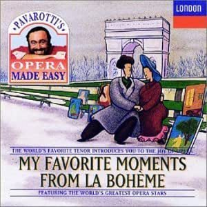 [중고] Luciano Pavarotti / My Favorite Moments - From La Boheme (수입/4438262)