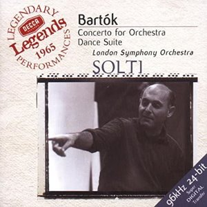 [중고] Georg Solti / Bartok : Concerto for Orchestra, etc. (수입/ 4676862)