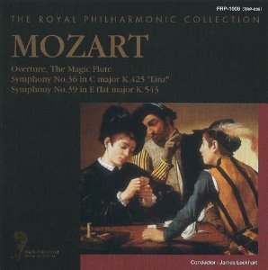 [중고] The Royal Philharmonic / Mozart: Overture, The Magic Flute, Symphony No.36, No.39 (일본수입/frp1008)