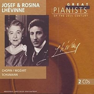 [중고] Josef & Rosina Lhevinne / Great Pianists Of The20th Century 64 (Digipack/2CD/4568892)