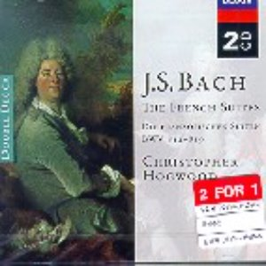 [중고] Christopher Hogwood / Bach: The French Suites (수입/2CD/4667362)