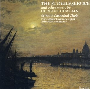 [중고] John Scott / Herbert Howells: St Paul's Service & Other Works  (수입/cda66260)